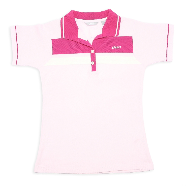 Рубашка поло Asics xaz739/1900 POLO XAZ739-1900 Женские 100 хлопок Стандартный Короткие рукава ( ≧35cm ) Логотип бренда % Для спорта и отдыха