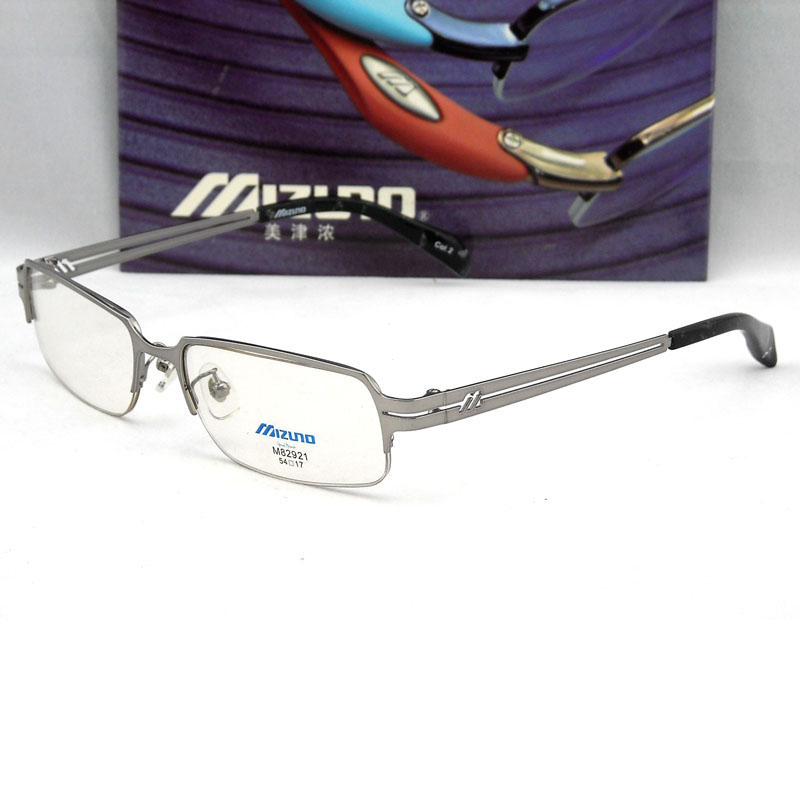 Genuine Clearance Mizuno MIZUNO M82921 C2 frames men semi-rimless ...