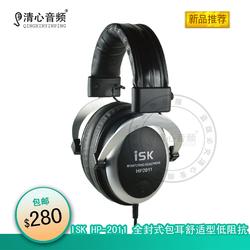 ISK HP- 全封式包耳舒适型低阻抗录音K歌监听耳机 耳麦