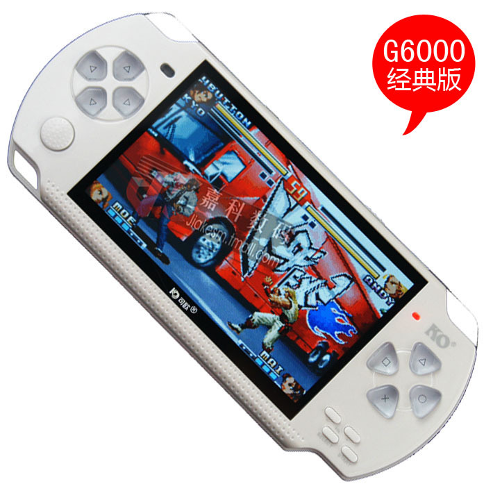 【淘金币】正品可欧G6000 4G/8G MP5高清MP4 PSP游戏机 掌机 拍照