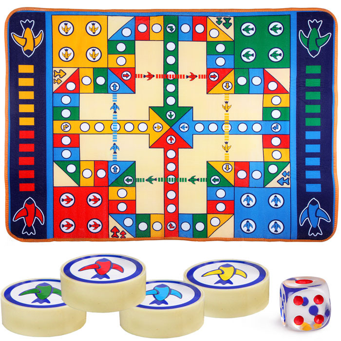 Children's toys flying chess carpet baby crawling mat game pad 1*1.3 m big flying chess toys