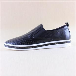 Демисезонные ботинки ECCO 2012 Для отдыха Верхний слой из натуральной кожи Круглый носок Без шнуровки