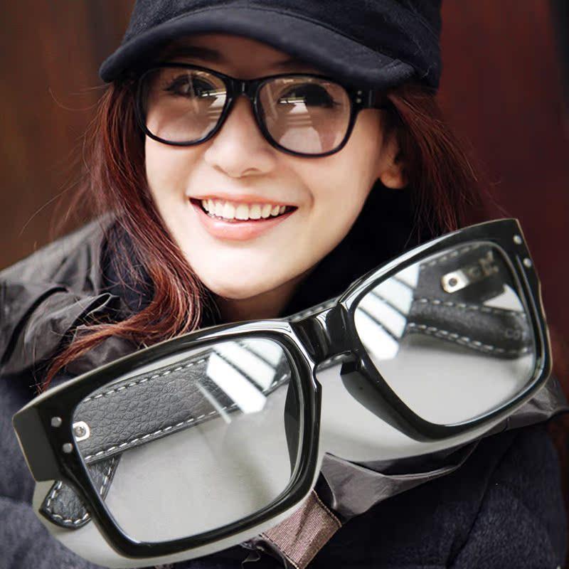 呛口小辣椒板材时尚框架眼镜百搭点点平光眼镜女男学生眼镜