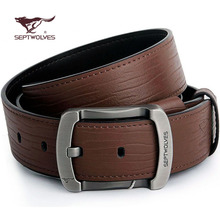 Leather leisure belt