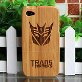 Timber bamboo 4th generation Apple iPhone44s Muke bamboo shell wooden bamboo cellphone shell cases sets of 60 models