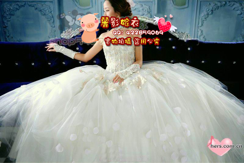 Свадебное платье Рейдер свадебное платье мечта мягкие пушистые юбка высокой талии тонкий Корейский Принцесса невеста