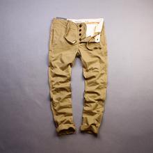 The new man more bag overalls Men's casual pants code A8