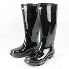 国货回力男款胶鞋防水鞋套鞋雨靴男式高筒黑色男鞋钓鱼鞋雨鞋图片
