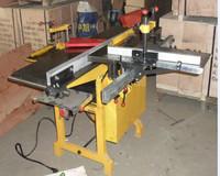 【力博机床】MQ443A多功能木工压刨 台式平压刨木工联合机床