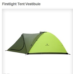 Black Diamond FIRSTLIGHT TENT HILIGHT  超轻四季高山帐蓬门厅