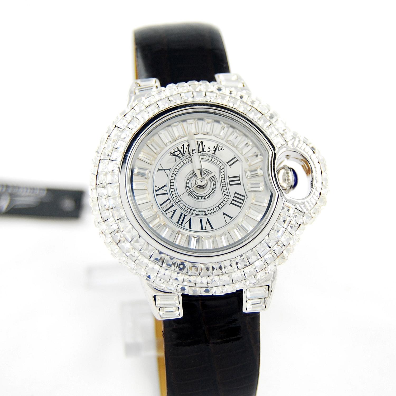Часы Melissa Fashion F1819 Кварцевые часы Женские Гонконг 2011