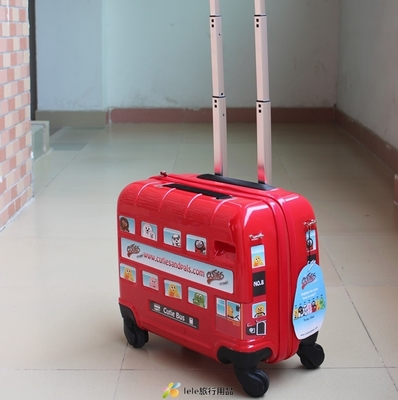 CTS's lightweight Samsonite trolley case 17 inch Wheels child cute luggage travel bags for men and women