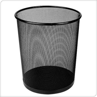 wire trash can/waste paper basket/small office trash can/waste basket