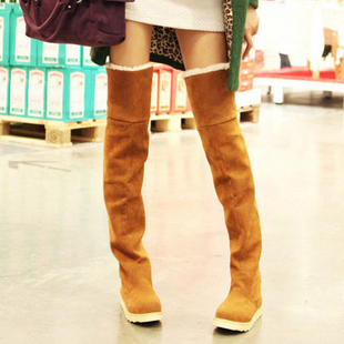 New autumn winter boots uggs clearance Martin boots, thick-soled shoes knee high boots tube woman in boots