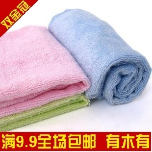 [Golden delicious Shanghai 9.9 email] WKZXW-002,100% child super soft bamboo fiber towel