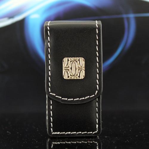 Кожаный чехол Cartier