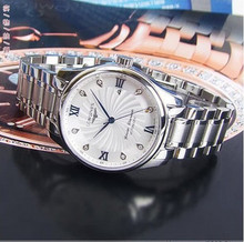 2010 newest design men's brand watches back through the cyclone Paris Men's Watch Automatic Mechanical