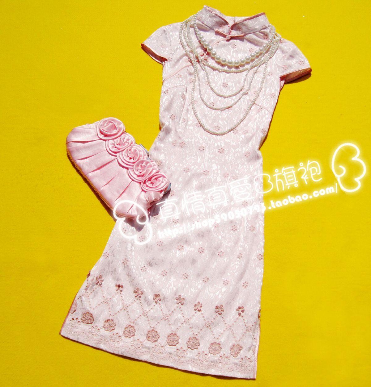 Платье Ципао  013