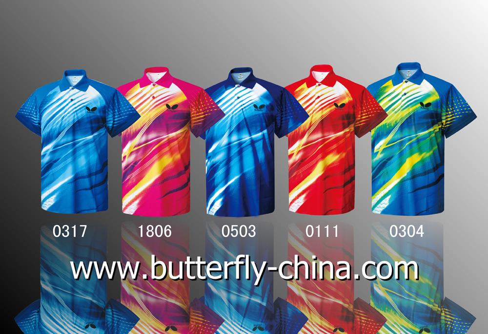 Форма для настольного тениса Butterfly  BWH 252 2012