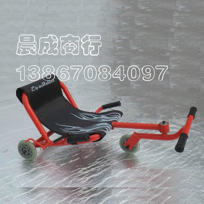Loss clearance cute baby red diamond three children scooters shilly car Karting (foot drive)