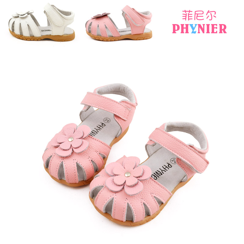 Panda 2014 New kids shoe leather baby shoe girl sandal 1-5 years   Taobao Agents