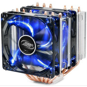 Aeolus large cream Tower / Extreme Edition CPU Cooler whole platform 775 1155 AMD CPU fan