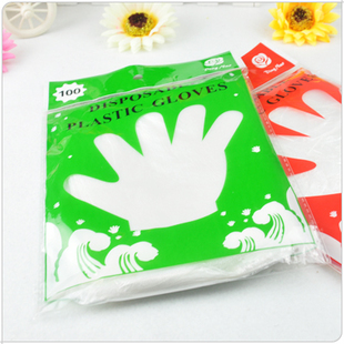 38, Zhejiang and Shanghai full mail gloves disposable gloves 100 Pack food hygiene gloves 50 g