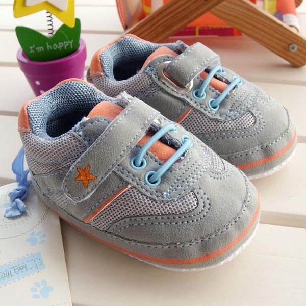 Детские ботинки с нескользящей подошвой OTHER q049 Для молодых мужчин, Унисекс 100 хлопковая ткань Липучка Весна-осень Линия шва % Однотонный цвет