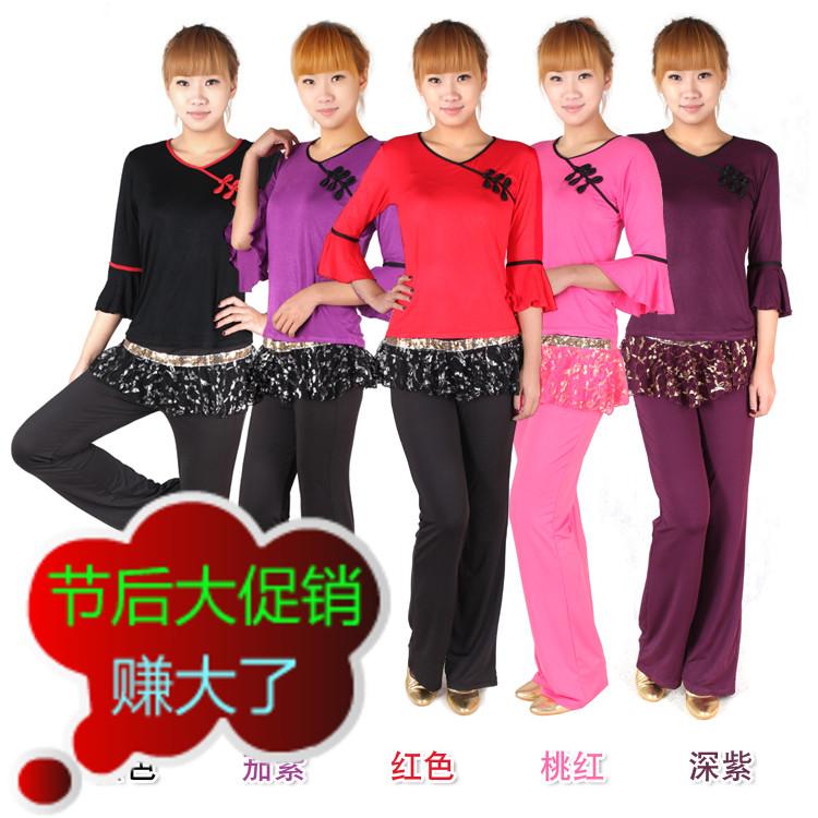 Одежда для тренировок латинскими танцами SANTSIWEI 8888
