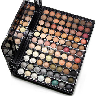 Mail original Coastal Scents88-color eye shadow + shadow yaguangzhu gloss makeup
