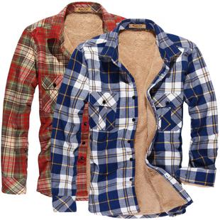 男士加绒衬衫,冬季保暖必备