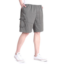 2012 five elderly summer beach pants men's casual cotton pants home Tourism shorts dad pants
