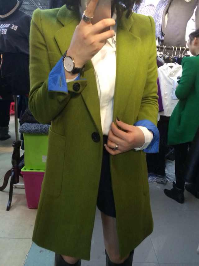женское пальто Зима 2013 новой роскоши моды oumeiyinglunfan пальто шерсти пиджак Разные