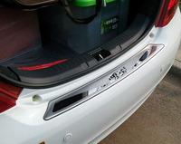 比亚迪速锐思锐 F3R F6 G3 S6 后备箱保护板/后护板/防擦条装饰条