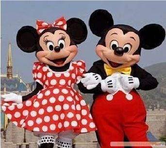 Mickey Mouse Cartoon Doll clothing walking cartoon dolls classic Mickey Mouse cartoon Mickey Mouse costumes