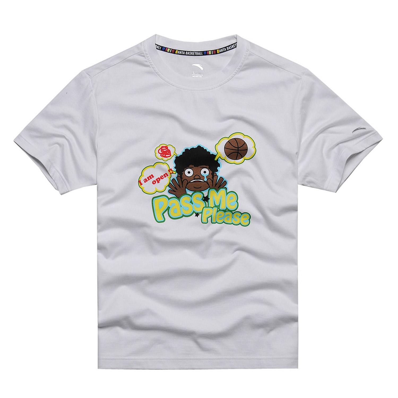 ANTA正品特价安踏男装套头T恤短袖针织衫|15121154-1-2-3-4-5