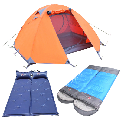 Double Pole Double Wild's tent camping tent outdoor people rain suits tent