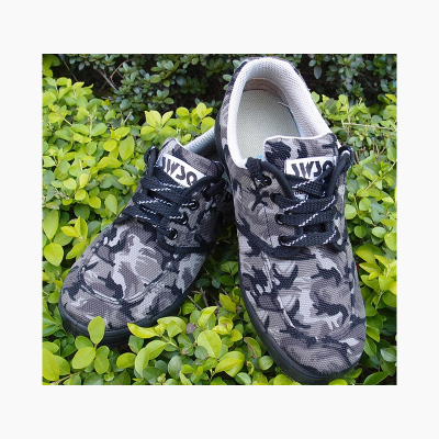 Summer Promotion Free shipping Jin Jiehasite camouflage shoes to help low canvas shoes outdoor shoes Jiefang Xie male military shoes