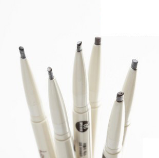 Korea   shop flower silky double-head automatic eyebrow pencil waterproof and sweat