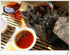 普洱茶熟茶砖茶叶特级景迈老茶砖勐海茶厂中茶荷兰拍买