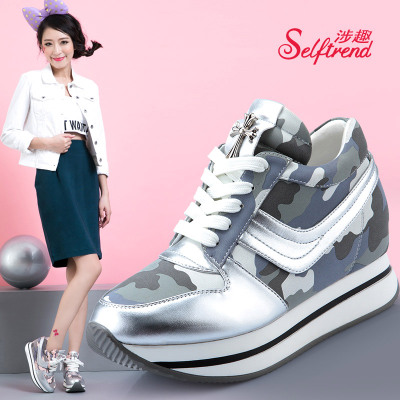 Interest involving 2014 Korean version of the new fall within the Department with increased stealth bottomed shoes casual sports shoes W03612
