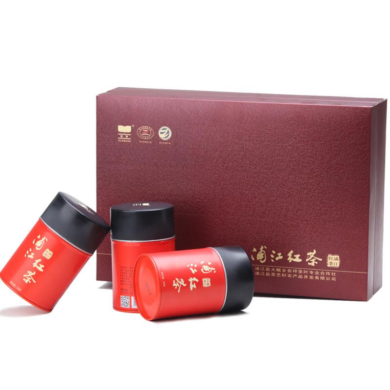 东坪茶叶 红茶 浦江红茶 一级 功夫红茶 2014高山野茶礼盒150g
