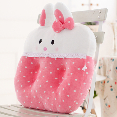 Meng cute cartoon rabbit holes cushion Qiqi doll Nice thick seat cushion car booster seat cushion