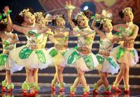 六一儿童舞蹈服装女童汉族秧歌舞演出服装少儿幼儿民族表演茉莉花