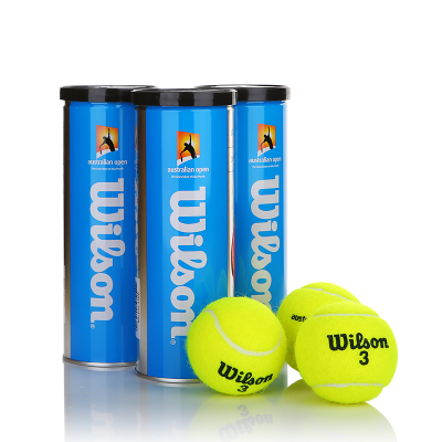 3 cylinder Genuine Wilson Wilson tennis ball cans official Australian Open