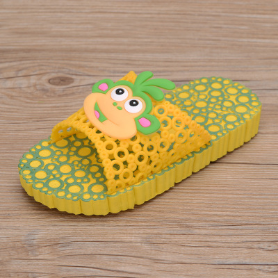 2014 authentic children's shoes, sandals and slippers slippers boys girls summer sandals new children slip hole shoes