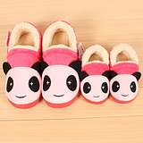 2014 new winter boys and girls children's slippers cotton slippers bag with cotton-padded shoes cartoon shoes paternity shoes
