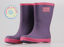 Package mail export famous British children's wear brand Children's boots boots boy rubber rain boots of the girls