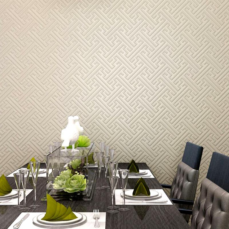 本木墙纸新现代中式壁纸 客厅电视背景墙素色无纺布墙纸卧室书房