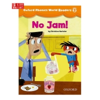 [英文原版]Oxford Phonics World 2 Reader: No Jam!